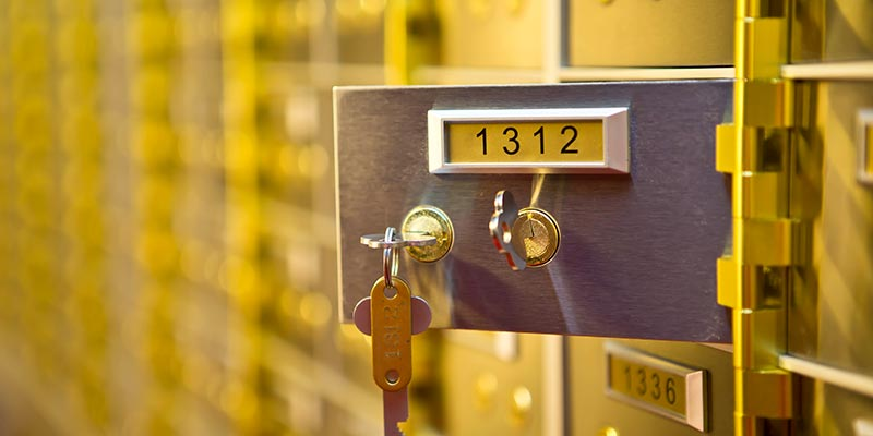 safety deposit boxes Manchester